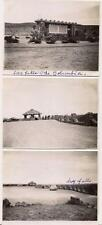 WA Dry Falls Of The Columbia (River) Sign Cars Precipice Overlook 3 1940s Photos