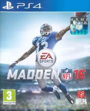 MADDEN NFL 16 JEU PS4, Verison française,Neuf Sous Blister, 5035228112902