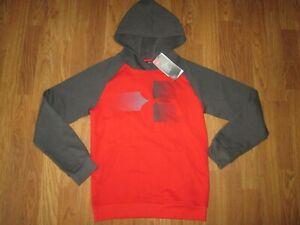 Boys UNDER ARMOUR COLD GEAR athletic hooded hoodie sweatshirt sz YXL XL NWT