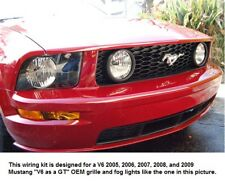 Mustang V6 with GT Grille Fog Light Wiring Syst 05 - 09