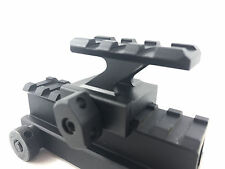 QD 20mm Picatinny Weaver Rail 30mm Scope Riser Rail Mount Base Adapter Flattop