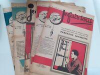 Revista Las Oficios Yo Fais Todos X 5 Lote 1929-30 N º 3-64-41-40-44 Buen Estado