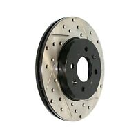 StopTech (127.40021R) Sportstop Slotted and Drilled Brake Rotor