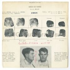 Wanted Notice - Alvin Rudder/Forgery - Huntsville, Texas 1940