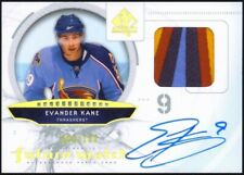 2009/10 SP Authentic EVANDER KANE Limited Rookie Patch Auto Future Watch RC /100