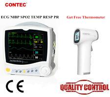 Contec Icu Ccu Patient Monitor Vital Signs Monitor Ecg Nibp Spo2 Resp Temp Pr