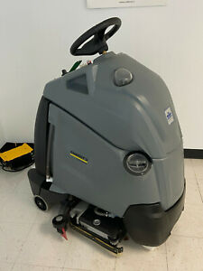Karcher Chariot iScrub 22 SP w/AGM batteries and Shelf Charger