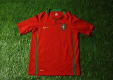 PORTUGAL NATIONAL TEAM 2008/2010 FOOTBALL SHIRT JERSEY HOME NIKE ORIGINAL YOUNG
