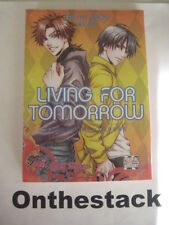 MANGA:  Living For Tomorrow (Yaoi) by Taishi Zaou (Paperback, 2009) Sealed!