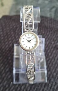 Beautiful Ladies Sterling Silver Rotary Watch and Bracelet