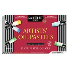 Sargent Art Artists' Oil Pastels - 12-Color Set  - 12-Color Set