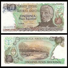 Argentina 50 Pesos, 1983-1985, P-314, UNC