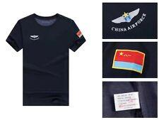 15's series China PLA Air Force Black T-shirt,A