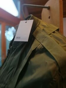 LADIES ARMY GREEN SUMMER PARKER SIZE 10 NEW With Labels!
