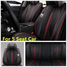 Full Surround Microfiber Leather Car Seat Covers Car Front+ Rear Seat Cushions