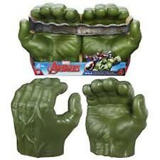 Marvel INCREDIBLE HULK AVENGERS Gamma Grip Fists Smash Green Hands Figure Gloves
