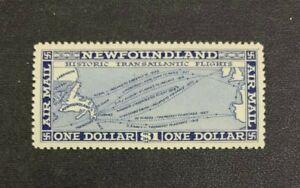 Newfoundland Stamp #C8 Mint Hinged