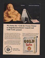 DÜSSELDORF HAMBURG, Werbung 1966, Teekanne GmbH Gold Teefix