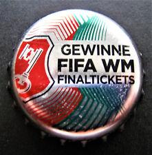 BECK'S PILSENER - GEWINNE FIFA WM FINALTICKETS 2018 / BOTTLE CAP / CROWN CAP