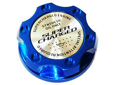 02-06 Mini Cooper S R50 R53 Supercharged Billet Engine Oil Filler Cap Blue