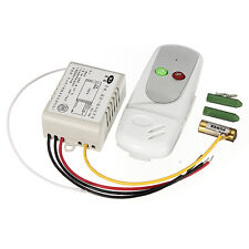 Wireless Anti-interference 1Way Light Lamp Remote Control Switch ON/OFF 220/110V