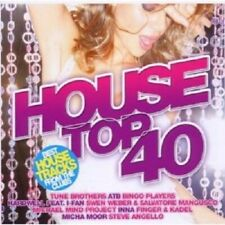 HOUSE TOP 40 VOL.1 2 CD NEW+