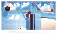 Blue Sky ON the EDGE Exhibition 1987 HORWITCH ART GALLERY YASAMI Glossy paper