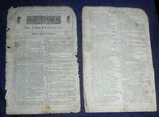 Eight Pages from The London Prodigal Complete William Shakespeare 3rd Folio 1664