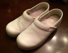 Dansko Professional White Nurse Nursing Shoes Clogs Womens 36 5.5 6 White