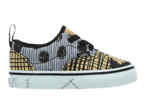 Vans x Disney Sally Era Elastic Lace Nightmare Before Christmas Toddler Size 6T