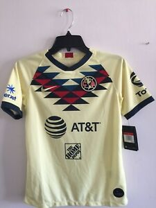 Nike Club America Home Jersey 19/20 Playera Del America Local Men's Size YL Only