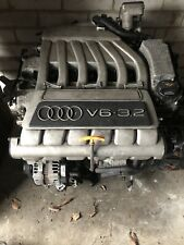 Audi A3 3.2 Quattro R32 Vr6 Complete Engine