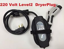 BMW i3 i8 *LEVEL 2* ELECTRIC CAR BATTERY EV CHARGER PLUG IN 220 240V 20A 23'Long