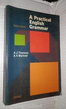 A PRACTICAL ENGLISH GRAMMAR A J Thomson A V Martinet Oxford University Press di