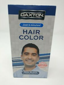 Daxton Hair Color, Compare to Just for Men, Real Black New in Bx Free Shipping!