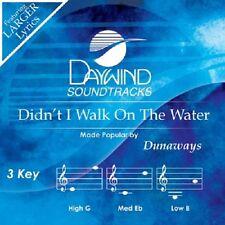 DUNAWAYS - DIDN'T I WALK ON THE WATER  - ACCOMPANIMENT NEW CD