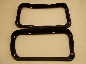 Datsun 240Z 260Z 1970-74 Tail Light Lite Rubber Seal Gasket Pair NEW L R 040 041