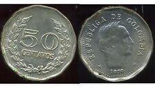 COLOMBIE 50 centavos 1970
