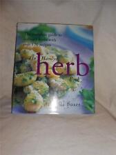 Hamlyn HERB BOOK Hard Cover Cookbook with Dust Jacket Xmas Gift