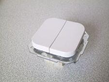 KOPP Serienschalter DONAU arktis-weiss UP Unterput Schalter Serie Doppelschalter