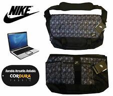 "Authentic Nike Mens Boys 17"" Padded Laptop Messenger School Student Bag Satchel"