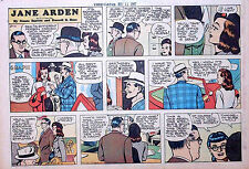 Jane Arden by Barrett & Ross - large half-page color Sunday comic - May 11, 1947