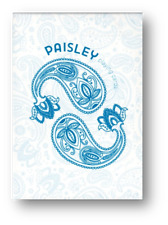 Paisley Playing Cards - Paris Blue Edition Poker Cardistry