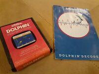 DOLPHIN by ACTIVISION for Atari 2600 ▪︎ CARTRIDGE AND MANUAL ▪︎