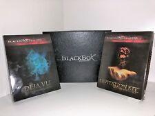 Card games Magic Card/Tricks BLACKBOX illusion ,DEJA VU, LEVITATION and STRIPPER