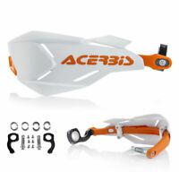 Acerbis Handguards Enduro MX Handprotektoren X-Factory weiss orange