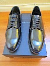 SAINT LAURENT Paris  Patent Leather BALMORALS OXFORD Shoes EU-37.5 US-7.5