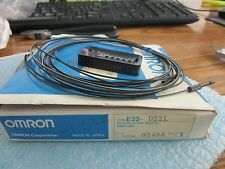 OMRON Model: E32-D22LPhotoelectric Switch Fiber.  New Old Stock =