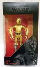 "HASBRO STAR WARS BLACK SERIES 6"" inch C-3PO Walgreens Exclusive Action figure"