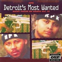 Detroit's Most Wanted Many faces of death Vol. III (1993) [CD]